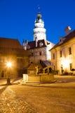 Church in Cesky Krumlov, South Bohemia, Czech Republic Royalty Free Stock Images