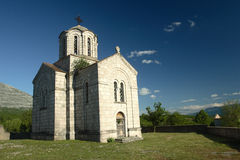 Church in Cetina - Croatia Royalty Free Stock Photo