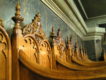 Church Chairs royalty free stock images