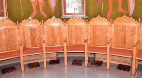 Church Chairs royalty free stock photo