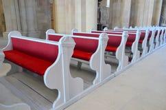 Church Chairs Stock Photo