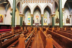 Church chamber interior Royalty Free Stock Photos