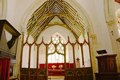 Church Chancel. Royalty Free Stock Image