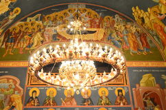 Church Chandelier Royalty Free Stock Images