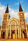 Church in Chantaburi , Thailand Stock Photos