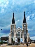 Church. In chantaburi at Thailand Stock Photography