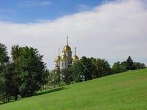 Church Chapel on Mamayev Kurgan complex, Volgograd, Russia Royalty Free Stock Photography
