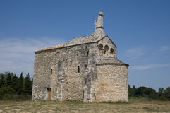 Church: Chapel St Laurent, Beaucaire - France stock images