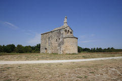 Church: Chapel St Laurent, Beaucaire - France Stock Images