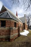 Church in Charlottetown, PEI, Royalty Free Stock Photos