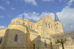 Church of Charolles, burgundy, France, saone-et-loire Royalty Free Stock Photo