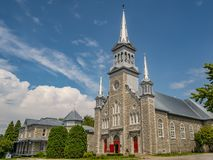 Church Chaudiere Appalaches region of Quebec stock photo