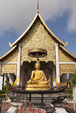 Church of chedi luang temple Royalty Free Stock Photo