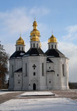 Church in Cherhihiv, Ukraine, of St. Catherine Royalty Free Stock Image