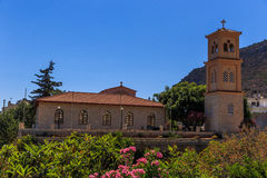 Church of Chersonisos. Old church at Creta , near Chersonisos royalty free stock photo