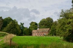 Church in cheshire. Quarry bank mill wilmslow Cheshire England united kingdom stock image