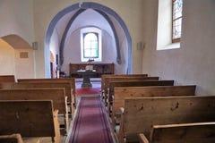 Temple de Chessel in Vouvry in Wallis in Switzerlnad royalty free stock photos