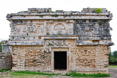 Church in Chichen Itza Stock Photo