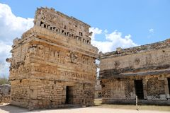 Church, Chichen Itza. Church, a part of the Maya Chichen Itza archaeological site in the Mexican state of Yucatan. The Church & x28;Iglesia& x29; is a Stock Photography