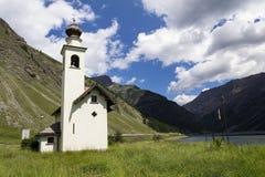 Church Chiesa dell Immacolata di Viera in Livigno, Italy. Church Chiesa dell Immacolata di Viera in Livigno, Lombardy, Italy Stock Photography