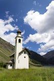 Church Chiesa dell Immacolata di Viera in Livigno, Italy. Church Chiesa dell Immacolata di Viera in Livigno, Lombardy, Italy Royalty Free Stock Photos