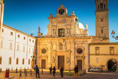 Church Chiesa di San Giovanni Evangelista in Parma Royalty Free Stock Images