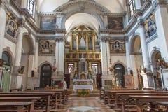 Church chiesa di Santa Maria del Giglio. Royalty Free Stock Photography
