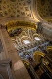 Church Chiesa San Luigi dei Francesi in Rome, Italy Stock Photos