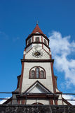 Church in the Chilean Lake District Royalty Free Stock Photo