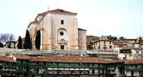 Church in Chinchon Stock Photo