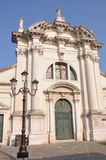 Church in Chioggia, old fishing town Stock Photos