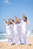 Church choir worshiping Royalty Free Stock Photography