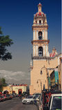 Church in Cholula Stock Images