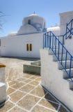 Church in Chorio village, Kimolos island, Greece Royalty Free Stock Photo