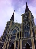 Church of Chris. In Thailand Royalty Free Stock Photography