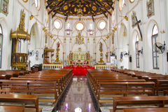 Church of Christ. Inside beautiful church of Christ Stock Images