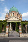 Church of Christ the King, Mirogoj cemetery in Zagreb. Croatia Stock Photography