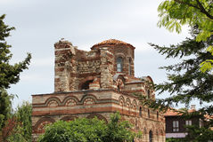 Church of Christ Pantocrator, Nesebar Stock Photos