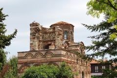 Church of Christ Pantocrator, Nesebar. The Church of Christ Pantocrator is a medieval Eastern Orthodox church in the eastern Bulgarian town of Nesebar (medieval Stock Photos
