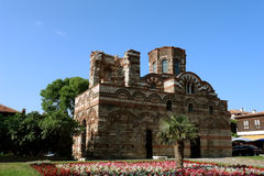 Church of Christ Pantocrator in Nessebar. Royalty Free Stock Images