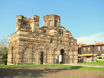 Church of Christ Pantocrator in Nessebar. Stock Images