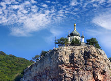 Church of Christ's Resurrection. The Church of Christ's Resurrection in Foros, Crimea, Ukraine stock images