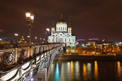 Church of Christ the Savior in Moscow Royalty Free Stock Photos