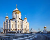 Church of Christ the Savior in Moscow Royalty Free Stock Photo