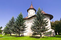 Church of christian monastery Royalty Free Stock Image