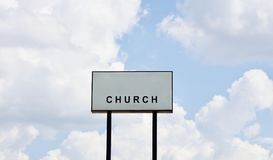 Church. The Christian Church is a term generally used by Protestants and some others to refer to the whole group of people belonging to the Christian religious Royalty Free Stock Photo