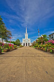 Church of Christianity. The entrance to the Christianity church Royalty Free Stock Image