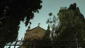 The Church Christianity Religion Building stock video
