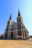 Church of Christianity. In Thailand Stock Photography