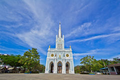 Church of Christianity. In Thailand Royalty Free Stock Photography